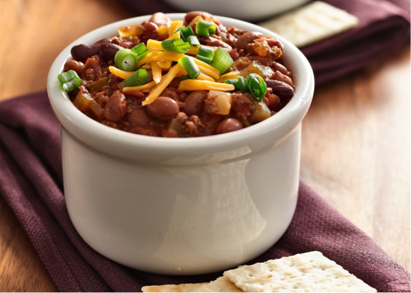 Spicy Three Bean Chili