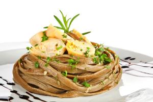 Whole-Wheat Lemon Artichoke Pasta