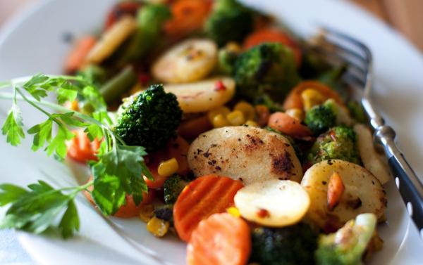 Maple Roasted Vegetable Medley