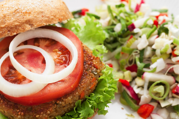 Herbed Quinoa and Black Bean Burgers