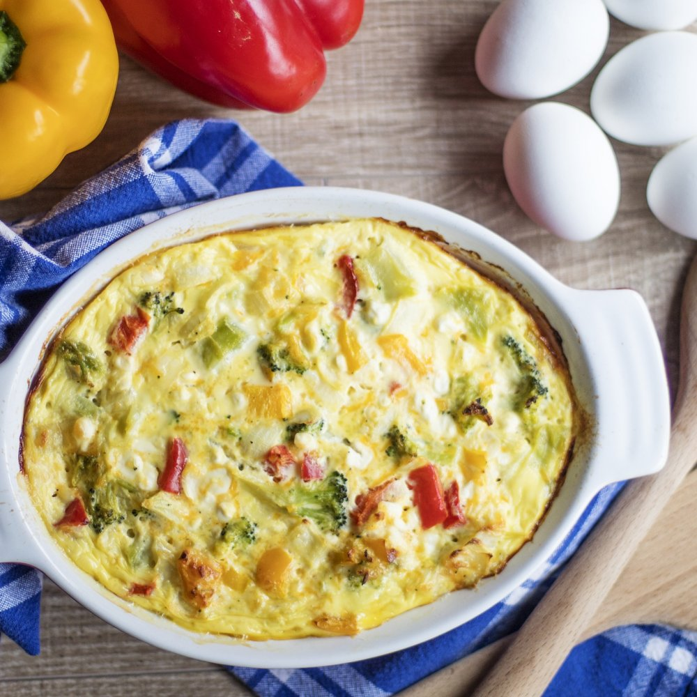 Hearty Italian Breakfast Casserole