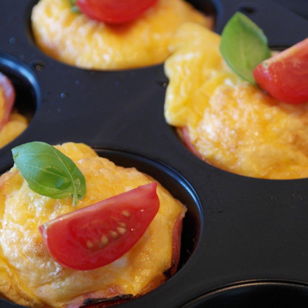Quick Italian Baked Tomato Eggs