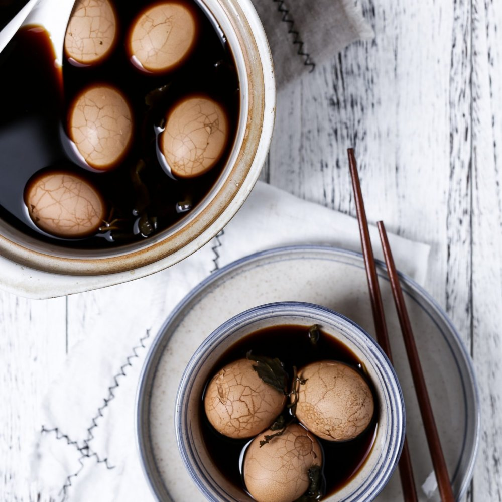 Recipe: Healthy Chinese Tea Eggs