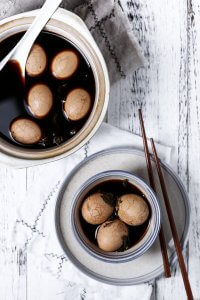 Healthy Chinese Tea Eggs recipe